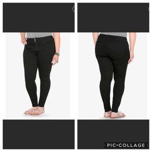 Torrid Black Denim Skinny Jeans Sz 20R
